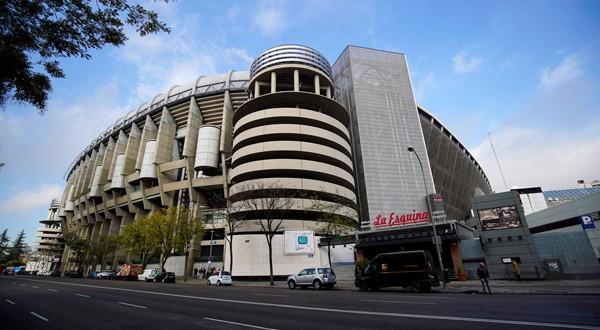 Vista del estadio Santiago Bernabéu en Madrid (REUTERS)