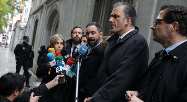 Santiago Abascal, líder de Vox, en una imagen de archivo en Madrid. 5 de noviembre, 2018. REUTERS/Susana Vera -
