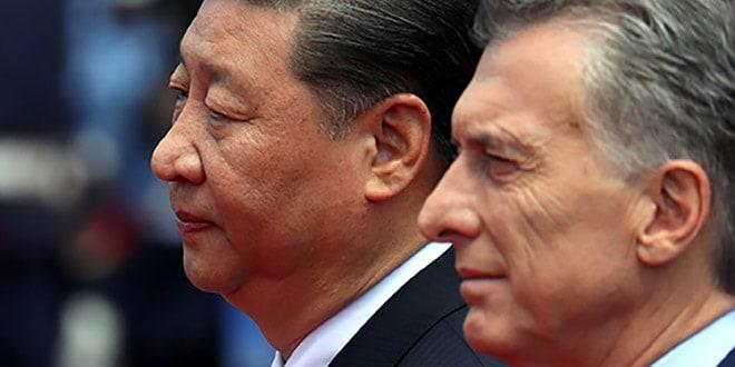 El presidente de Argentina, Mauricio Macri, y su homólogo chino, Xi Jinping, en Buenos Aires, Argentina, el 2 de diciembre de 2018. Foto: REUTERS / Marcos Brindicci