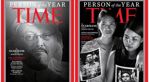 """Portadas para la """"Persona del Año"""" de Time (REUTERS)"""