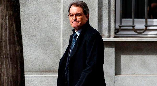 El Supremo rebaja a la mitad período de inhabilitación a Artur Mas