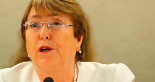 """La Alta Comisionada de Naciones Unidas para los DDHH, Michelle Bachelet, solicitó acceso """"urgente"""" a periodista detenido en Venezuela"""