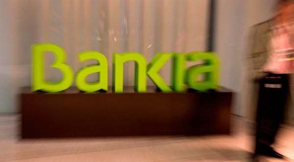 En la imagen, el logo de Bankia en la sede del banco antes de una rueda de prensa para presentar sus resultados anuales en Madrid, España, el 30 de enero de 2017. REUTERS/Sergio Pérez