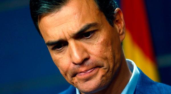 En la imagen de archivo, el líder socialista y presidente del Gobierno Pedro Sánchez en una conferencia de prensa en Madrid. REUTERS/Javier Barbancho/File Photo