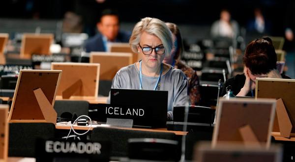 En la imagen, la Conferencia COP24 de la ONU 2018 sobre Cambio Climático en Katowice, Polonia, el 11 de diciembre de 2018. REUTERS/Agencja Gazeta/Grzegorz Celejewski