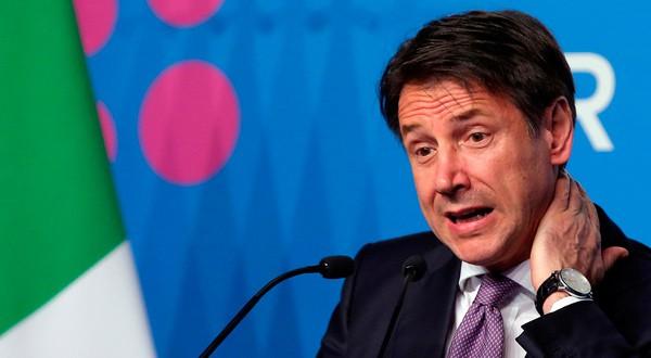 Giuseppe Conte, Primer Ministro de Italia, en conferencia de prensa el último día del G20 en Buenos Aires. REUTERS/Agustín Marcarián