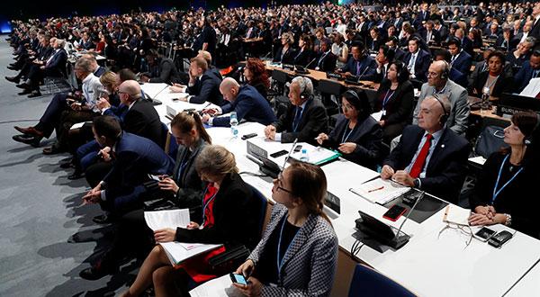 LaConferencia de la ONU sobre Cambio Climáticointenta crear un reglamento para operar el Acuerdo de París