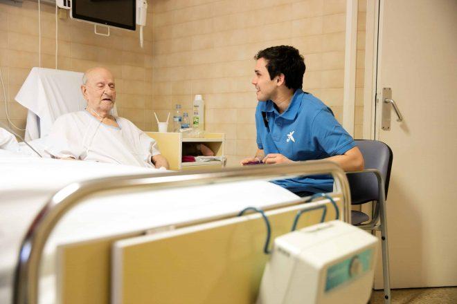 Europa distingue el programa de cuidados paliativos de la Caixa
