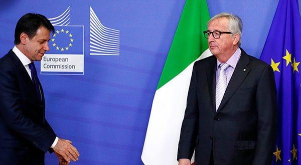 Reducción del déficit de Italia pasó la prueba en Bruselas