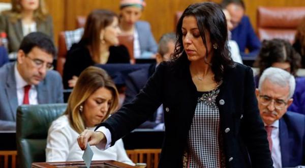 Marta Bosquet asumió la Presidencia del nuevo Parlamento de Andalucía.