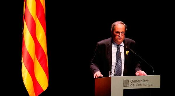 Quim Torra, presidente de la Generalitat de Catalunya. REUTERS