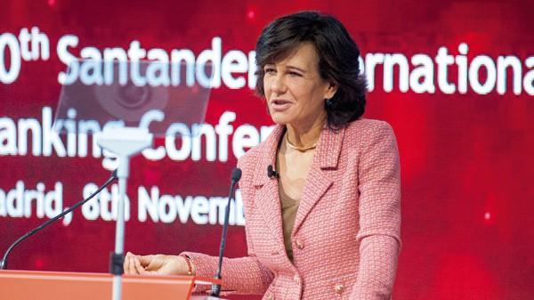 Ana Botín, presidenta del Banco Santander. REUTERS