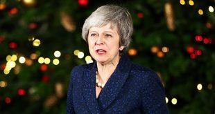 """La primera ministra británica Theresa May viaja este jueves a Bruselas por """"más garantías"""" para su acuerdo de salida firmado con la UE/Reuters"""