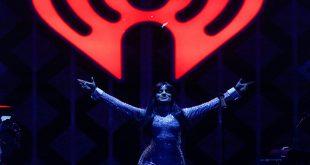 Camila Cabello durante su presentación en IHeartradio Jingle Ball 2018 en Nueva York