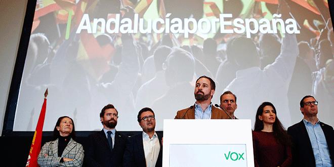 """Santiago Abascal: """"Nuestra propuesta de fondo es la transformación del estado de las autonomías a un estado unitario"""". REUTERS/Jon Nazca"""