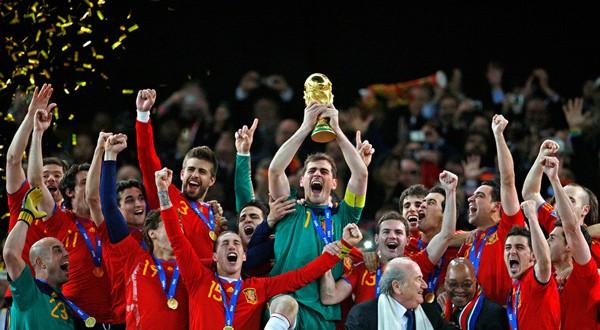 España, campeona del mundo en 2010