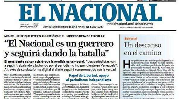 """""""Libertad de expresión bolivariana"""" cobra una nueva víctima"""