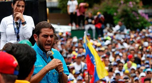 El diputado Requesens participó en protestas antigubernamentales/REUTERS
