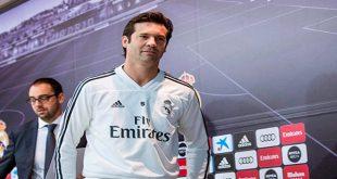 """Santiago Solari, técnico del Real Madrid, aseguró que """"Vamos a pelear la Liga hasta el final""""."""