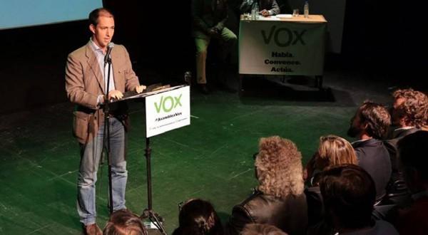 Víctor González Coello de Portugal, vicepresidente primero de Vox (El País)