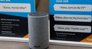 FOTO DE ARCHIVO: Ejemplos sobre cómo utilizar el asistente de Amazon Alexa, en un centro de Amazon en Vallejo, California, EEUU, 8 de mayo de 2018. REUTERS/Elijah Nouvelage/File Photo