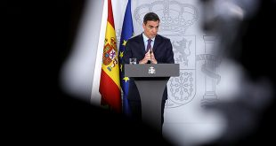 Sánchez dice que el Gobierno español presentará los presupuestos el viernes
