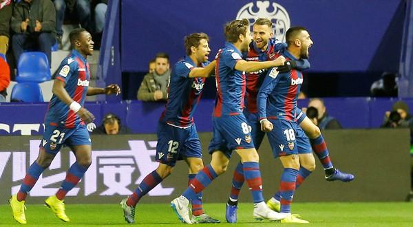 levante venció 2-1 al barcelona