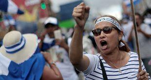 Disidentes nicaragüenses marchan en protesta contra el Gobierno del presidente nicaragüense, Daniel Ortega, en San José, Costa Rica, 20 de enero de 2019. REUTERS / Juan Carlos Ulate