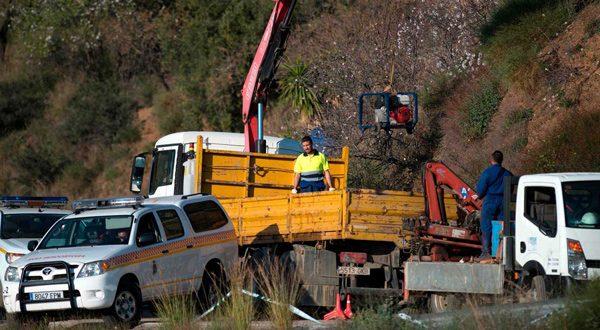 excavación de los túneles
