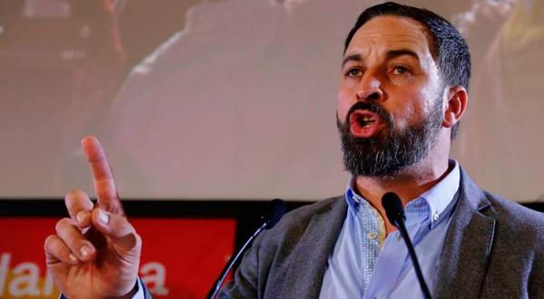 Santiago Abascal, líder del partido de ultraderecha Vox. REUTERS
