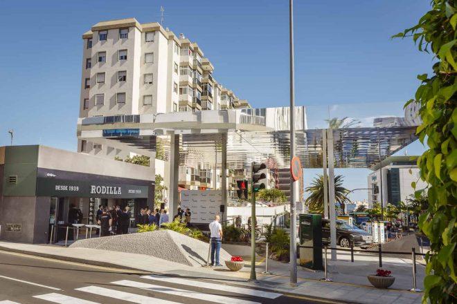 Abre la primera electrolinera y restaurante Rodilla de Canarias