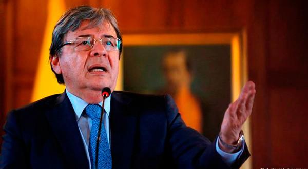 Carlos Holmes Trujillo, ministro de Relaciones Exteriores de Colombia. REUTERS