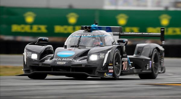 El Cadillac #10 con el que Alonso se coronó campeón en las 24 horas de Daytona