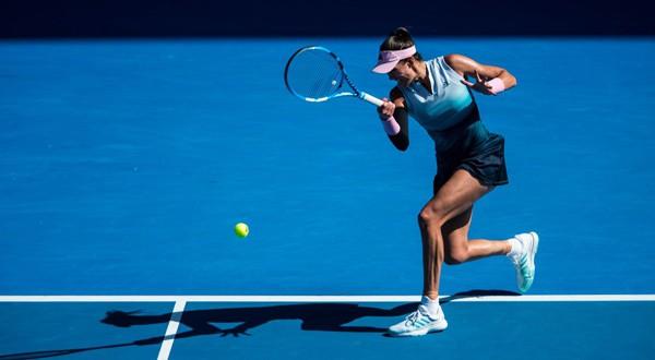Garbiñe Muguruza durante su segundo partido en el Thailand Open (WTA)