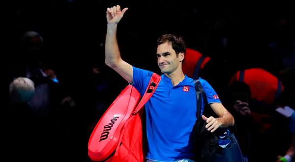 Foto de archivo. Roger Federer tras un partido del torneo ATP Finals en el O2, Londres, Gran Bretaña. 17 de noviembre de 2018. Action Images de Alemania a través de Reuters/Andrew Couldridge