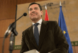 Juanma Moreno asiste a su investidura ante el Parlamento andaluz
