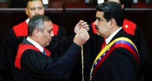 Maduro se juramenta