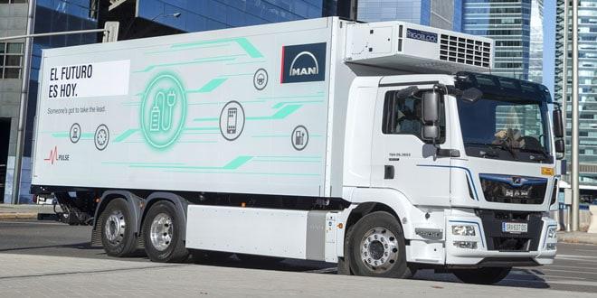 MAN Truck & Bus Iberia presenta el primer camión 100% eléctrico