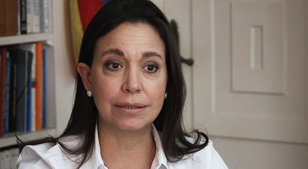 Machado: al régimen de Maduro lo soporta un sistema de mafias que se han convertido en su escudo de protección/Vanessa González