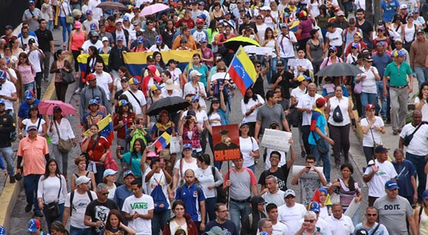 La detención de Virgilio Jiménez Urbina se produjo en el marco de una de las tantas protestas que se han realizado en Venezuela en los últimos tres años