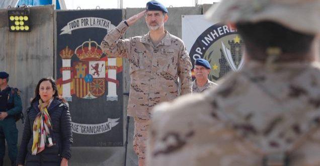 El Rey Felipe pasó su cumpleaños número 51 con las tropas españolas que conforman la Operación Alfa-India en Irak/Casa Real