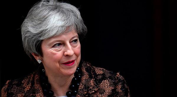 En la imagen de archivo, la primera ministra británica, Theresa May, en Downing Street, Londres, Reino Unido, 21 de enero de 2019. REUTERS/Toby Melville
