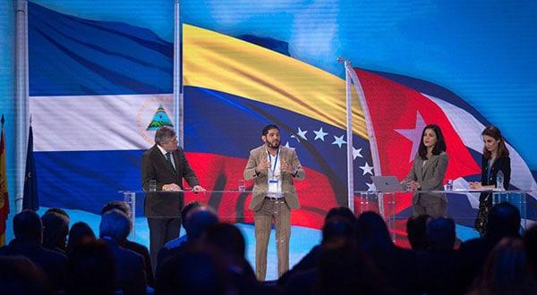 Representantes de la oposición de Venezuela, Nicaragua y Cuba tuvieron espacios para discernir sobre los derechos humanos en Latinoamérica/TWITTER ANDREA LEVY