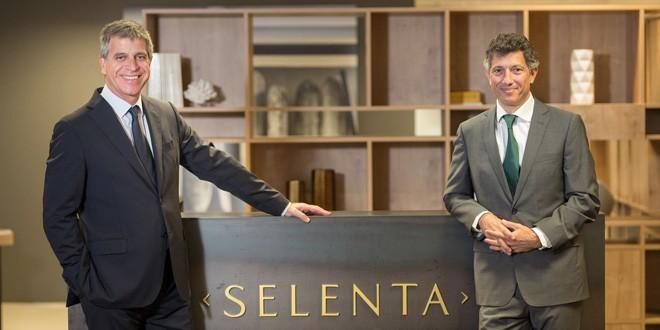 Jordi Mestre y Ramon Borrell, presidente ejecutivo de Selenta Group y consejero delegado del grupo, respectivamente.