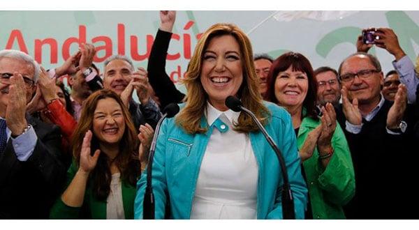Susana Díaz busca asumir liderazgo oposicionista en territorio andaluz / REUTERS