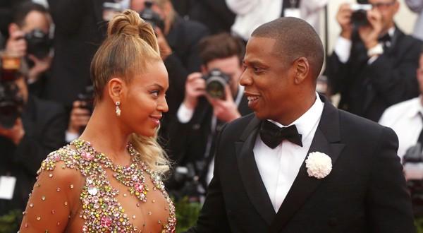 Beyoncé y Jay Z en la Met Gala de 2015