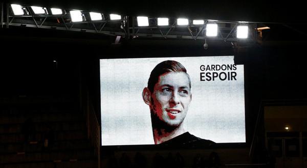 Homenaje a Emiliano Sala en el Stade de la Beaujoire. 30 de enero de 2019.