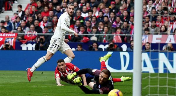 Gareth Bale anotó el tercer gol del partido