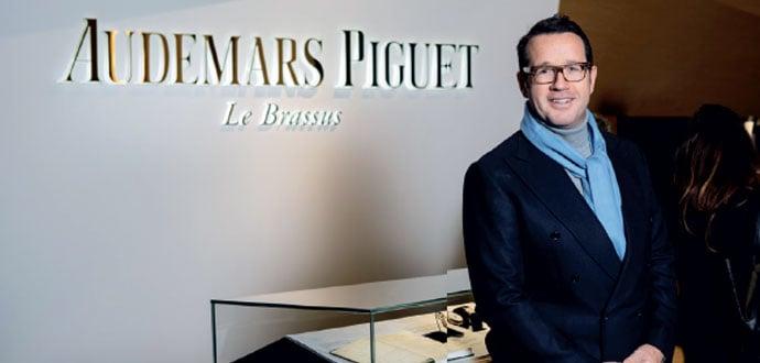 François-Henry Bennahmias, CEO de Audemars Piguet