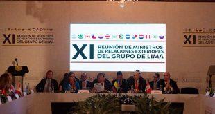 Grupo de Lima reunión Venezuela
